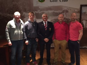 Club Fourball winners 2016