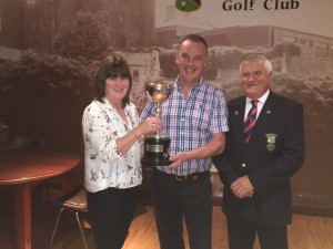 Clun Golfer of year 2016